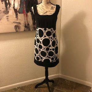 Size 4 polka dot mini dress by Ab studio